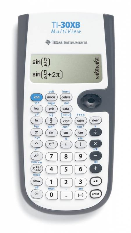 Image of   Matematikregner Texas TI-30XB MultiView