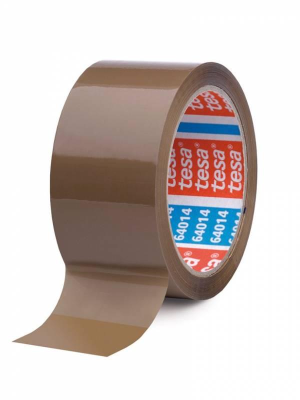 Image of   Tape tesa 64014 akrylic brun PP 50mmx66m