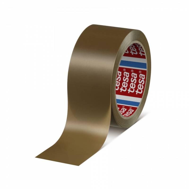 Image of   Tape tesa PVC brun 48mmx66m 4120