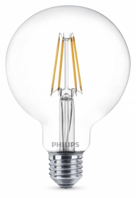 Billede af Pære LED Globe 6W (60W) E27 Classic WW G93 CL ND