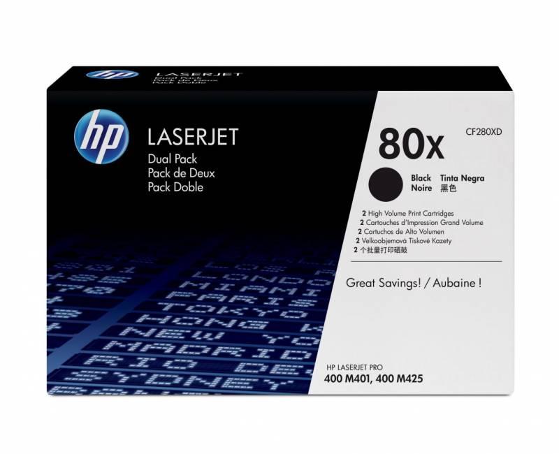 Billede af HP 2xToner CF280X black LJ 400 Printer