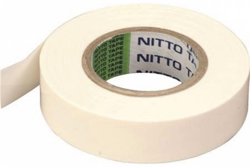 Tape Nitto hvid 100mmx10m