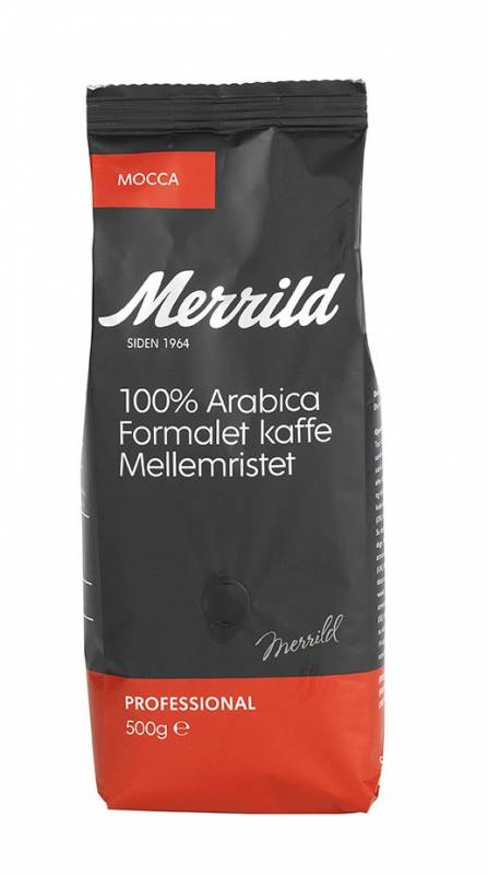Image of   Kaffe Merrild Mocca 500g/ps