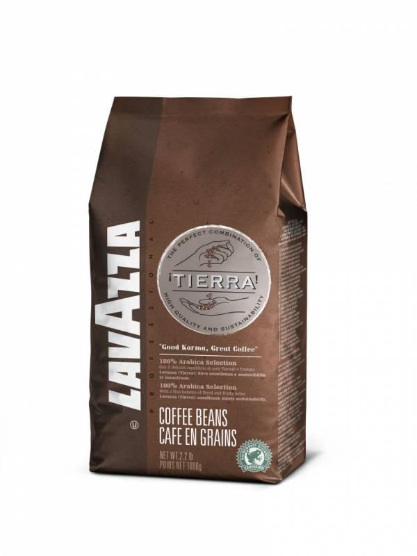Espressobønner Lavazza Tierra 1kg/ps
