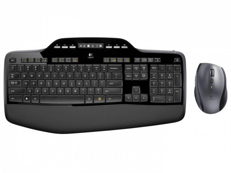 Tastatur + lasermus Logitech MK710 sort trådløs 920-002443