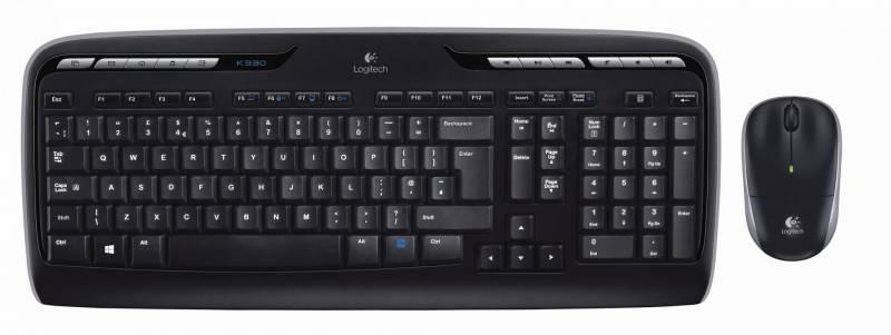 Tastatur + Mus Logitech 7291601