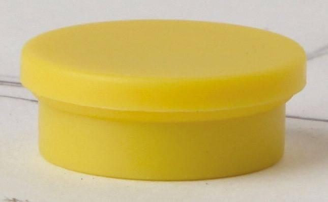 Billede af Magneter niceday gul Ø30mm 10stk/pak 980607