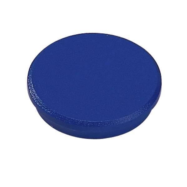 Image of   Magneter Dahle 32mm rund blå 10stk/pak bærekraft 0,8kg