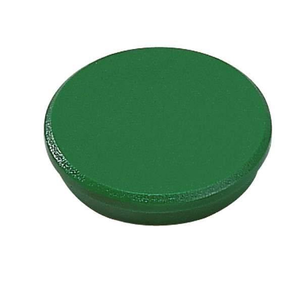 Image of   Magneter Dahle 32mm rund grøn 10stk/pak bærekraft 0,8kg