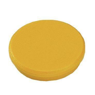 Image of   Magneter Dahle 38mm rund gul 10stk/pak 2,5kg bærekraft