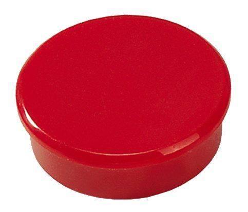 Image of   Magneter Dahle 38mm rund rød 10stk/pak 2,5kg bærekraft
