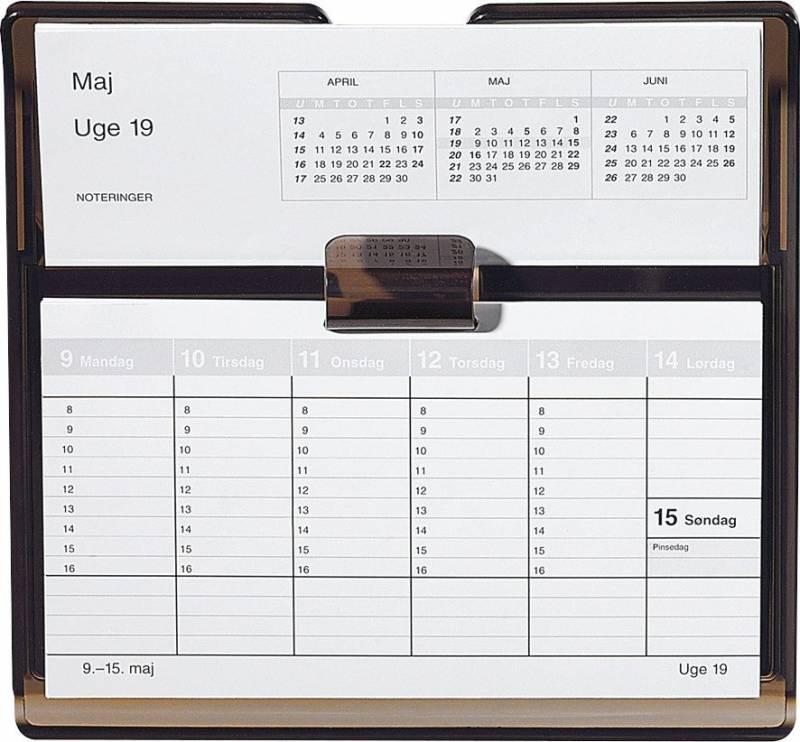 Billede af Uge bordkalender refill Flip-a-week 18x10cm 20 1360 00