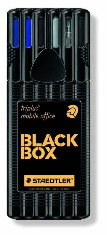 Image of   Marker STAEDTLER triplus Black box assorteret 6-pack