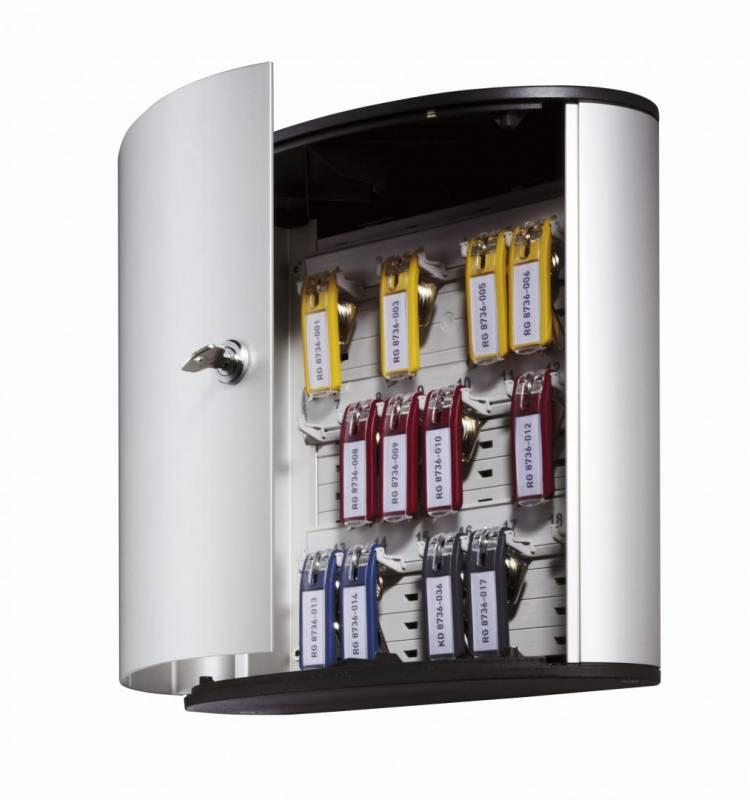 Image of   Nøgleskab Durable Keybox 18 alu til 18 nøgler