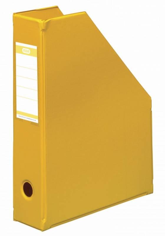 Billede af Tidsskriftskassette ELBA A4 maxi gul ryg:6,5cm