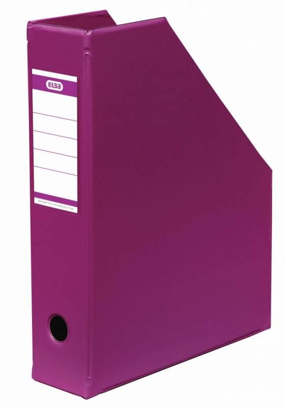 Billede af Tidsskriftskassette ELBA A4 maxi pink ryg:6,5cm