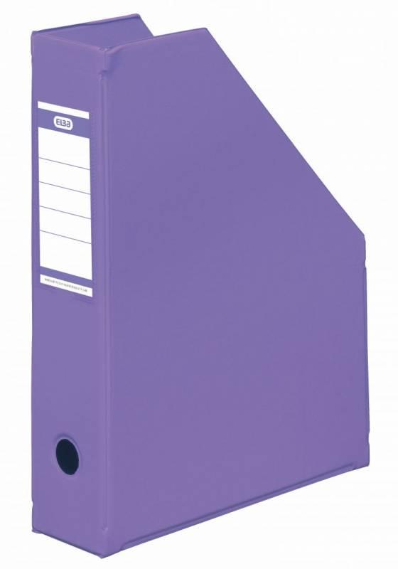 Billede af Tidsskriftskassette ELBA A4 maxi lilla ryg:6,5cm