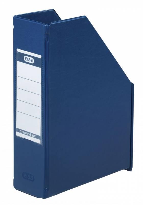 Billede af Tidsskriftskassette ELBA A5 maxi blå ryg:6,5cm