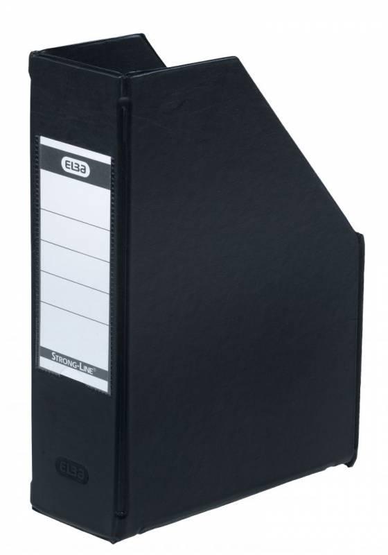 Billede af Tidsskriftskassette ELBA A5 maxi sort ryg:6,5cm