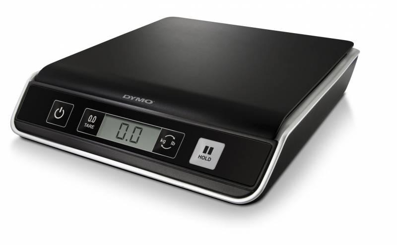 Image of   Brevvægt 5kg DYMO M5 sort med USB