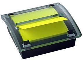 Image of   Borddispenser klar plast C2014 til z-notes R-330 76x76mm