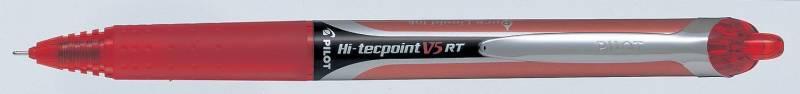 Image of   Roller Pilot Hi-Tecpoint V5 RT rød stregbrd. 0,3mm