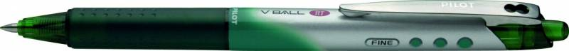 Image of   Roller Pilot V-Ball BLRT-VB stregbred 0,4mm grøn M