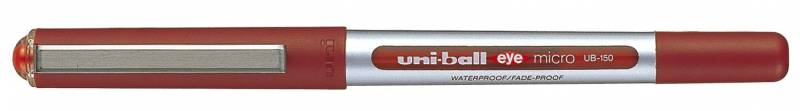Image of   Rollerpen Uni-ball rød 0,2mm UB-150 Eye Micro