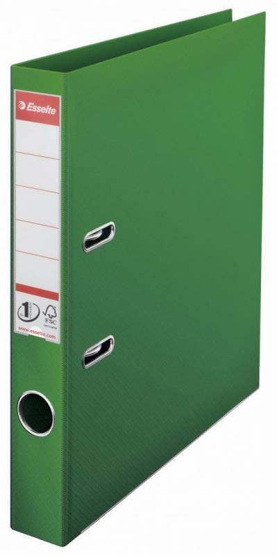 Billede af Brevordner Esselte No.1 Power grøn A4 smal
