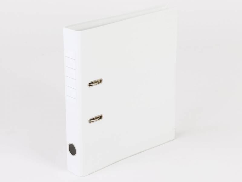 Billede af Brevordner Q-Line hvid A4 metalskinne 50mm ryg
