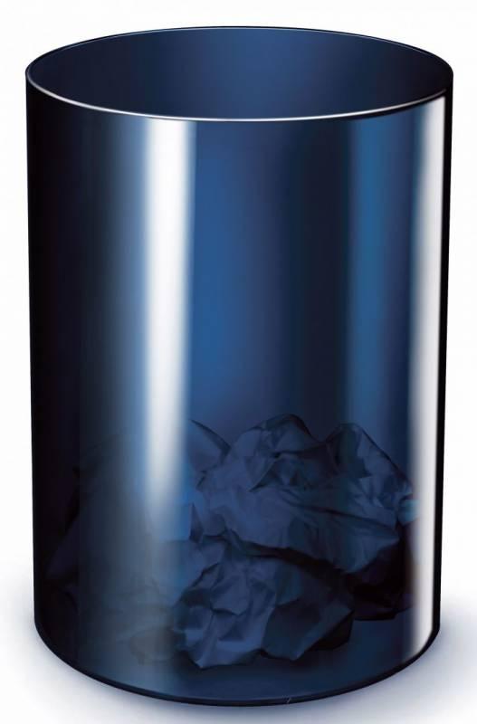 Billede af Papirkurv Office Depot 18L plast midnight blue