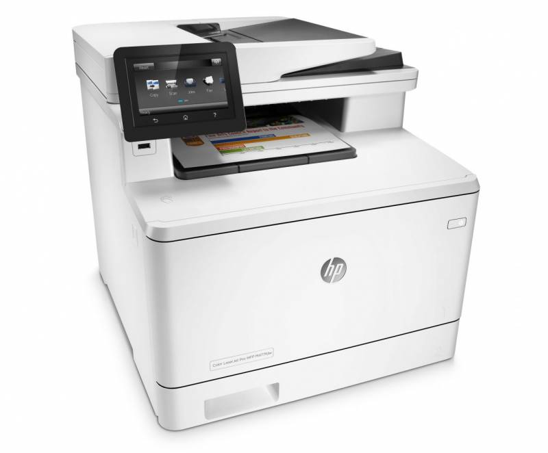 Laserprinter HP Color LaserJet Pro MFP M477fdw