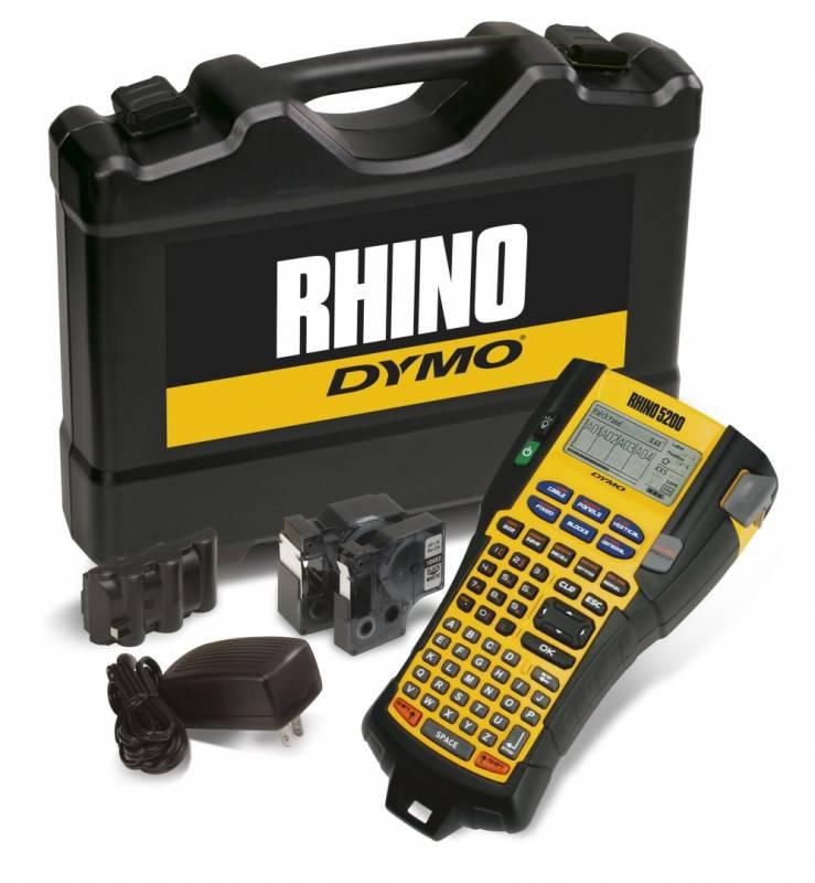 Image of   Labelprinter DYMO Rhino 5200 proff. kit m/tilbehør