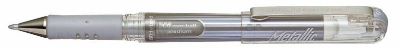 Image of   Rollerpen Pentel Hybrid Gel K230-ZO sølv 1,0mm