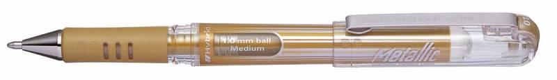 Image of   Rollerpen Pentel Hybrid Gel K230-XO guld 1,0mm