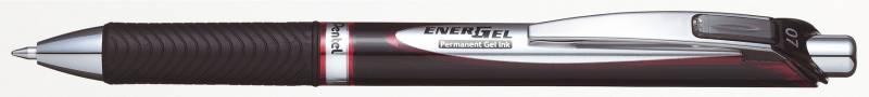 Image of   Rollerpen Pentel EnerGel rød BLP77-B 0,7mm permanent