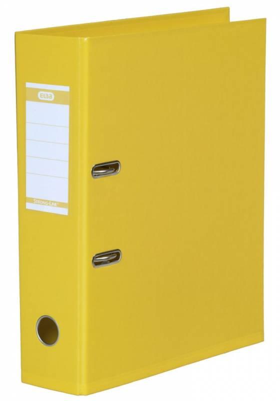 Billede af Brevordner ELBA PP A4 gul bred 1414-06