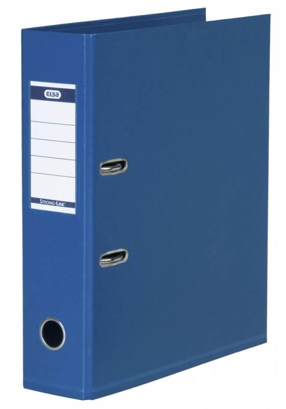 Brevordner ELBA PP A4 blå bred 1414-01