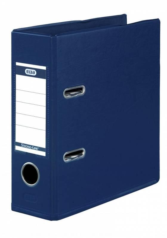 Brevordner ELBA PP A5 blå bred 1452-01