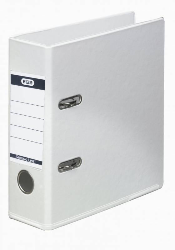 Brevordner ELBA PP A5 hvid bred 1452-07