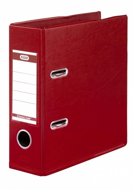 Brevordner ELBA PP A5 rød bred 1452-09