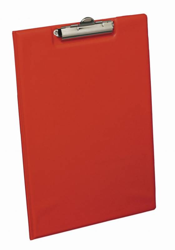 Image of   Clipboard rød A4 Bantex 4210