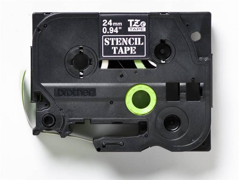 Image of   Labeltape Brother STe151 24mm stenciltape/elektrolysetape