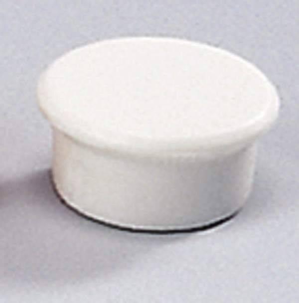 Image of   Magneter Dahle 13mm rund hvid 10stk/pak bærekraft 0,1kg