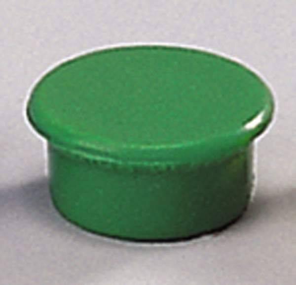 Image of   Magneter Dahle 13mm rund grøn 10stk/pak bærekraft 0,1kg
