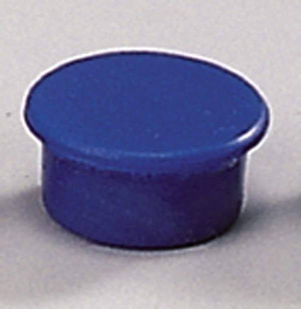 Image of   Magneter Dahle 13mm rund blå 10stk/pak bærekraft 0,1kg