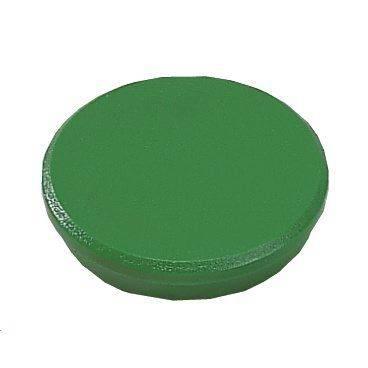 Image of   Magneter Dahle 24mm rund grøn 10stk/pak bærekraft 0,3kg