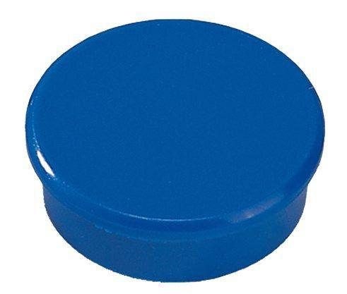 Image of   Magneter Dahle 24mm rund blå 10stk/pak bærekraft 0,3kg