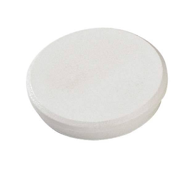Image of   Magneter Dahle 24mm rund hvid 10stk/pak bærekraft 0,3kg