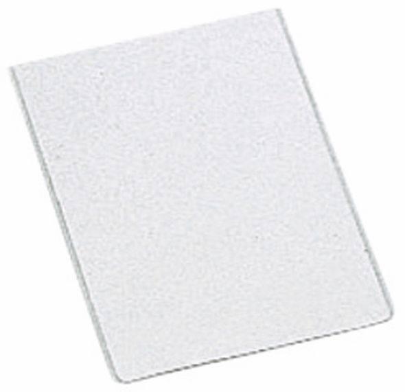 Billede af Plastetui Esselte A6 0,105mm glasklar 100stk/pak